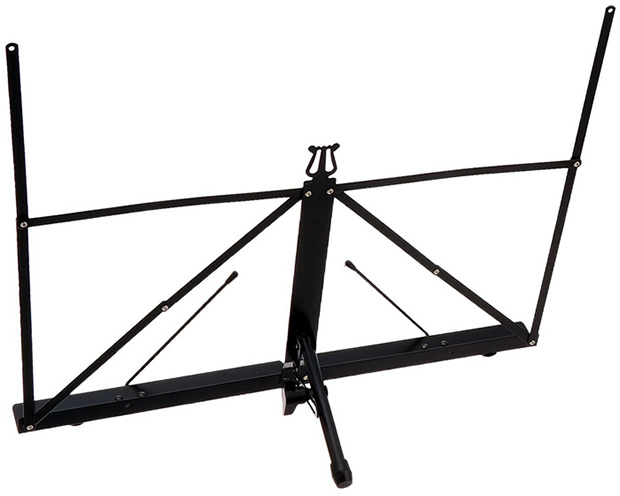 Portable Tabletop Music Stand Back